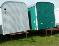 Bauwagen, Baucontainer mieten